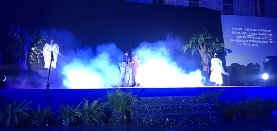 BHK ELEMENTARY STUDENTS' ART PERFORMANCE AND MUSICAL DRAMA 'CHRISTOPHER'